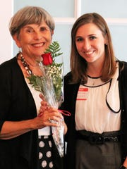Colleen Moser with Catherine Gorman.