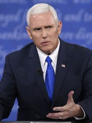 Mike Pence during the 2016 election.