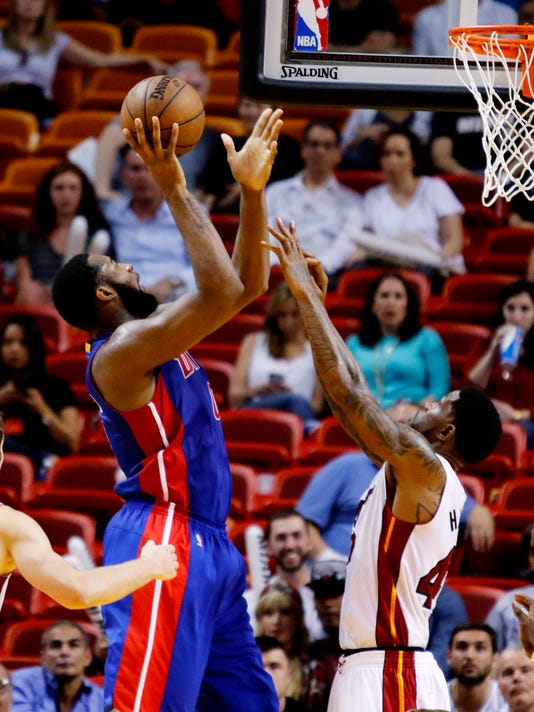 Andre Drummond; Udonis Haslem