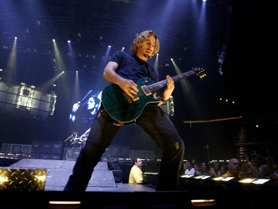 2004: Nickelback played the Iowa State Fair Grandstand
