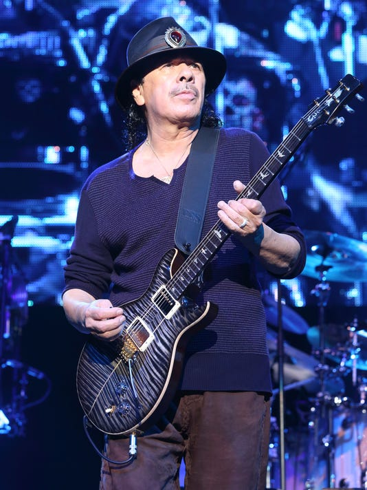 AP CARLOS SANTANA IN CONCERT - BALTIMORE A ENT USA MD