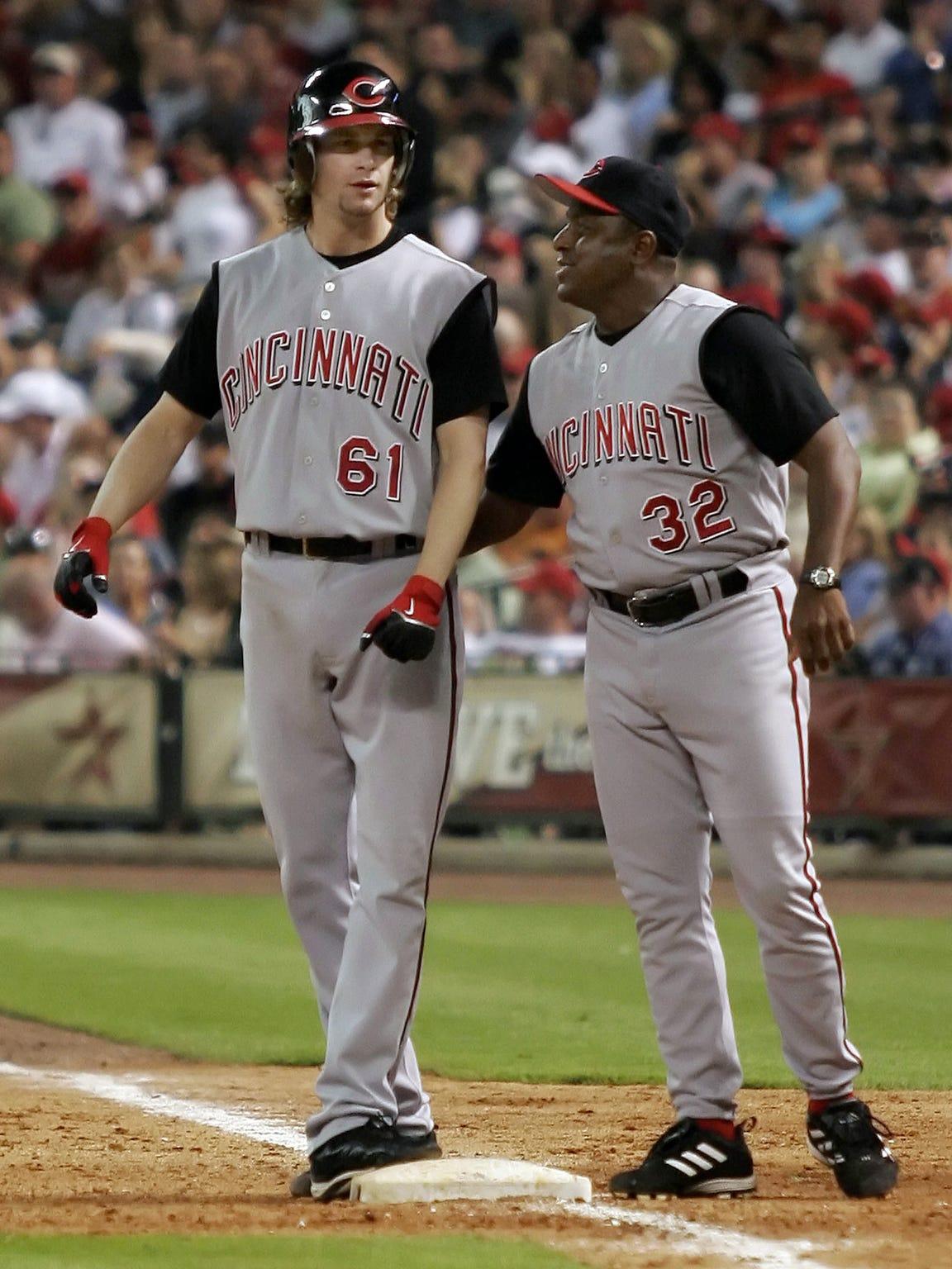 6-4-06, 6D  Cincinnati Reds pitcher Bronson Arroyo