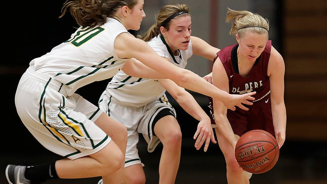 De Pere senior Olivia DeCleene averaged 2.7 steals per game this season and was named the Fox River Classic Conference defensive player of the year.