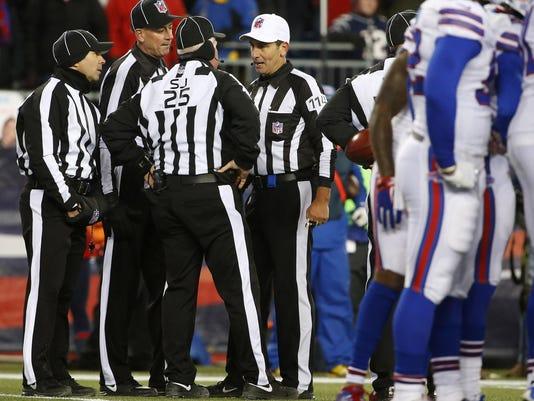 NFL: Buffalo Bills at New England Patriots