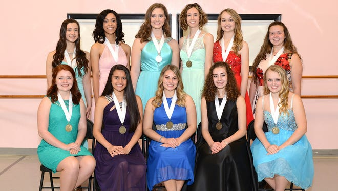 The Distinguished Young Women Class of 2018.
