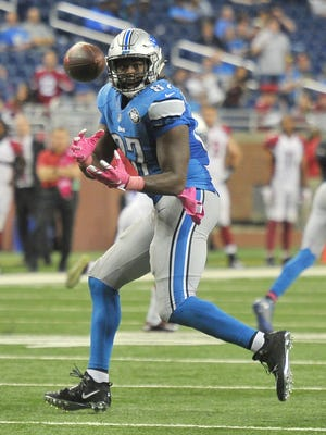 Lions tight end Brandon Pettigrew is probable for Sunday against the Chiefs.