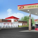 Speedway plans to demolish its gas station in Hartland Township and rebuild a much larger one, next spring. It would also have a Speedy Cafe and more fuel pumps.