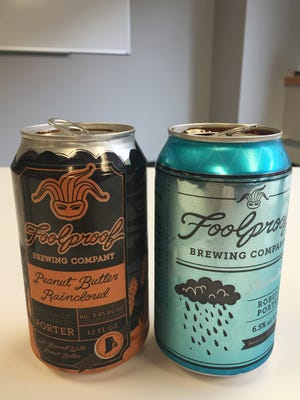 What's in the Fridge?  This week its two brews out of Foolproof Brewing Company, a Raincloud Robust Porter and a Peanut Butter Raincloud Porter.