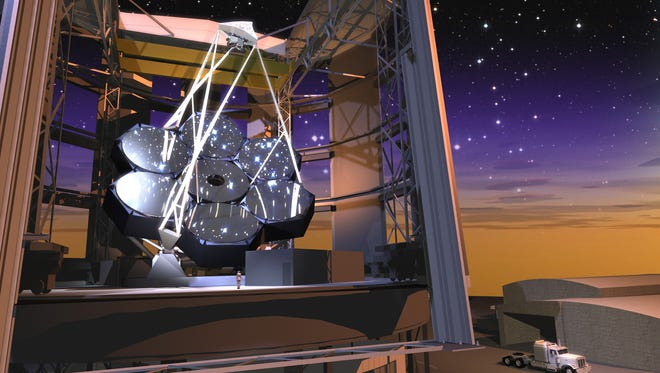 Ground was broken for the Giant Magellan Telescope in Chile on Nov. 11, 2015.