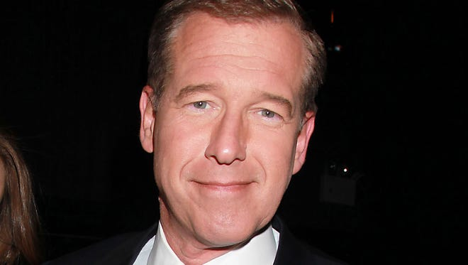 """This April 4, 2012, file photo shows NBC News' Brian Williams at the premiere of the HBO original series """"Girls,"""" in New York."""