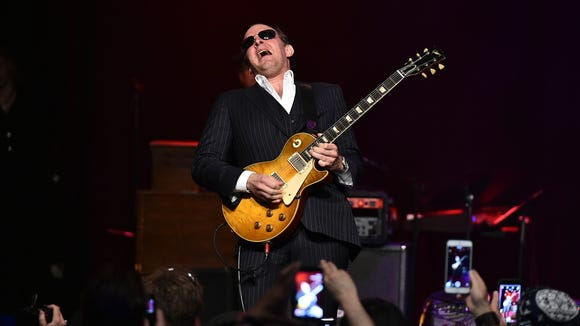 Joe Bonamassa performs at the Les Paul 100th Anniversary Celebration on June 9, 2015 in New York City.