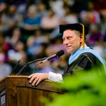 Tom Izzo to LCC grads: 'Don't be afraid to dream big'