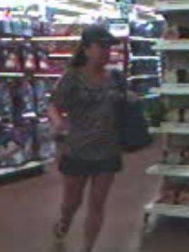 Suspect in Wal-Mart retail theft on October 17.