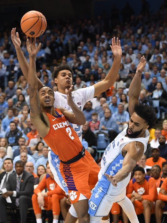 Clemson North Carolina Basketball