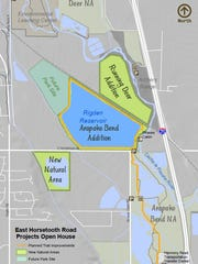 Major changes are planned in the coming years for city-owned property along East Horsetooth and Strauss Cabin roads.