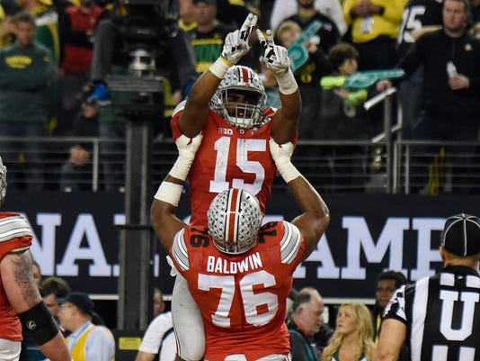 NCAA Football: National Championship-Ohio State vs Oregon