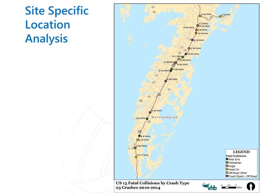 Eastern Shore Route 13 and 175 Safety Study.