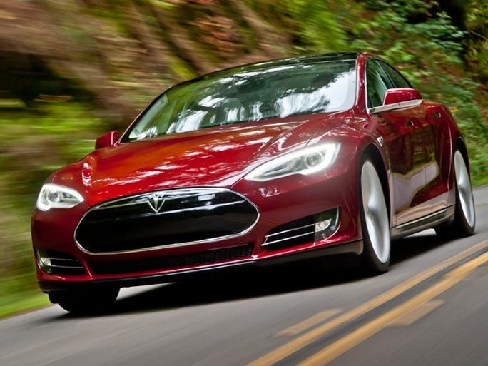 Consumer Reports' 2014 Top Pick for Best Overall Vehicle: Tesla Model S