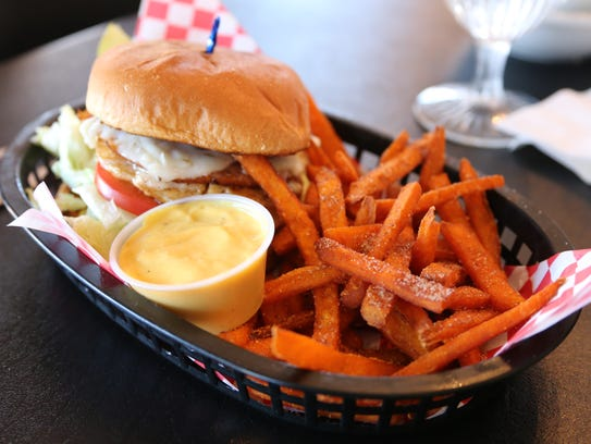Dede's restaurant serves its sweet potato fries with