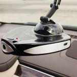 LyfeLens comes with two cameras and a microphone that continuously records while you're in the driver's seat — and when you're not.