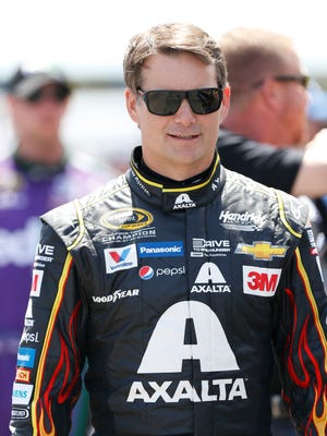 Retired four-time Sprint Cup champion Jeff Gordon will fill in if Dale Earnhardt Jr. cannot return to the car  next week at Indianapolis Motor Speedway.