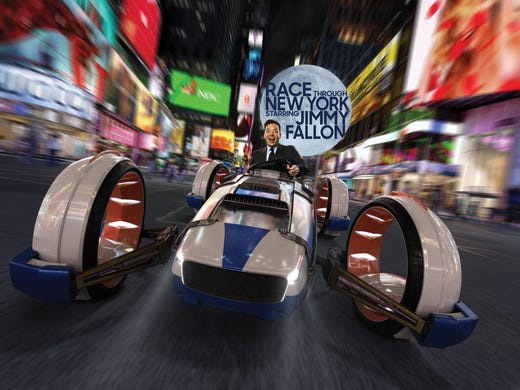 Jimmy Fallon's Race Through New York ride review