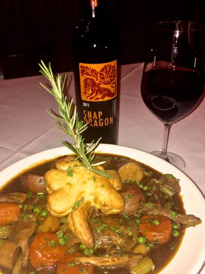 Traditional Irish stew with roasted root vegetables by Mcguire's Irish Pub Executive Chef Chris Tingle.