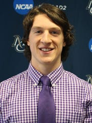 Mercy College senior lacrosse player Jesse Wood was