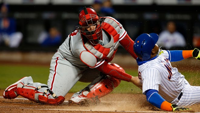 Philadelphia Phillies catcher Cameron Rupp has weathered some criticism for his performance behind the plate this season.