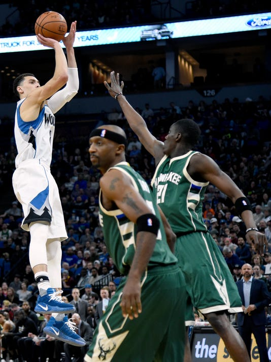 Zach LaVine, Jason Terry, Tony Snell