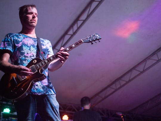 Framing Hanley performs during the Fire on the Water