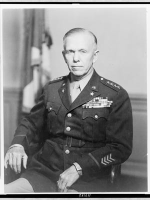 Retired general George C. Marshall received a waiver from Congress to serve as Defense secretary in 1950.
