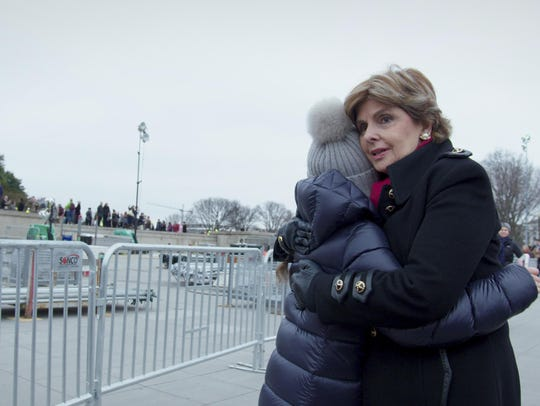 "Gloria Allred, in a scene from the documentary ""Seeing"
