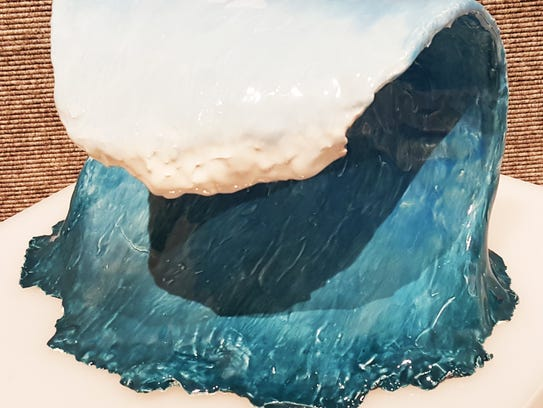"""Taylor Carson's work entitled """"Wave."""" Marco Island"""