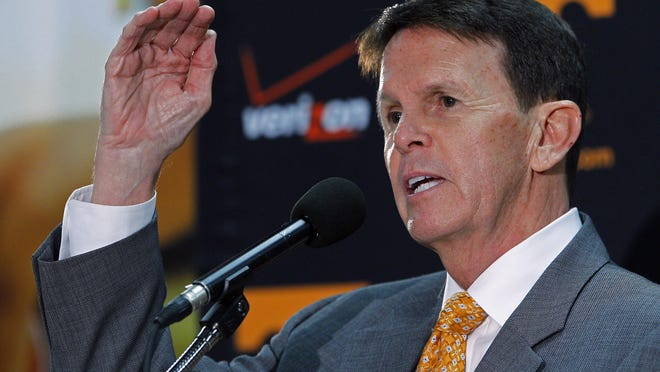 Tennessee athletics director Dave Hart.