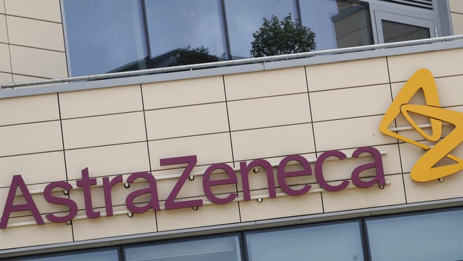 This July 18, 2020, file photo, shows the AstraZeneca offices in Cambridge, England. AstraZeneca announced Monday, Aug. 31, its vaccine candidate has entered the final testing stage in the U.S. The company said the study will involve up to 30,000 adults from various racial, ethnic and geographic groups.