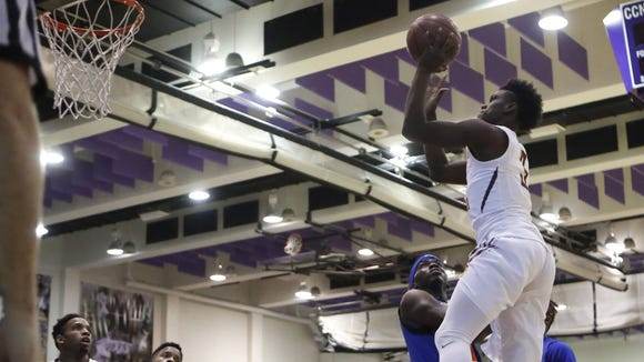 Mount Vernon falls to Cardozo 70-69 in the first round of the SNY Invitational NYC High School Basketball Showdown at the City College of New York on Friday, Jan. 29, 2016.