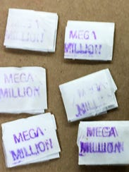 "The ""Mega Million"" heroin stamp has been involved in"