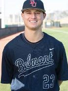 Belmont's Tyler Fullerton, who is from Murfreesboro, was one of three Bruins named to the All-OVC baseball first team.