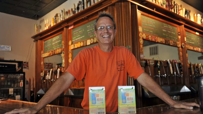 Barley's Taproom owner Jimi Rentz.