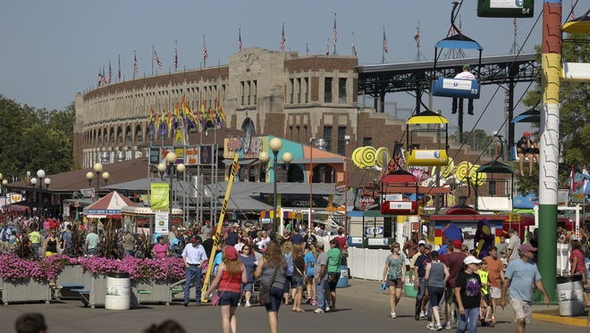 The Iowa State Fair Grandstand is set to undergo a multimillion-dollar renovation in time for the 2018 fair.
