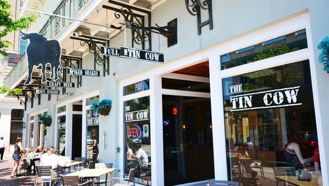 The Tin Cow on Palafox.