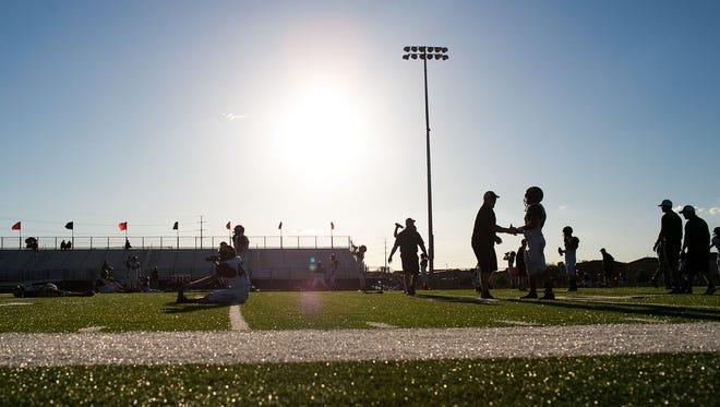 High school football in Arizona.