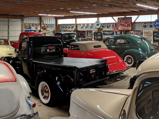 Bill Whetstone and Chris Herod's garage, which has