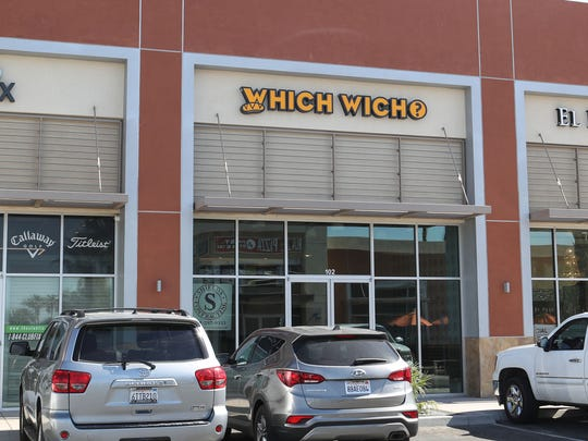 The Which Wich sandwich shop in Palm Desert, May 15, 2018.