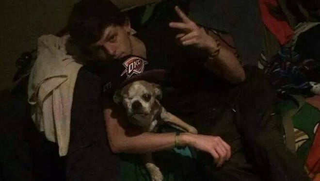 A photo of Winter from his Facebook page. Winter's body was found Tuesday after he went missing during a paddleboarding excursion.