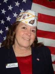 Laurel Clewell, adjutant for American Legion Post 38
