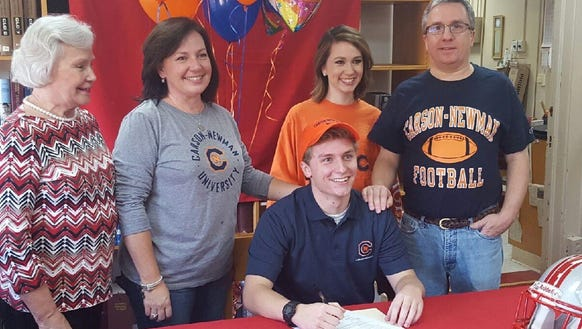 Hendersonville senior Drew Eudy has signed to play