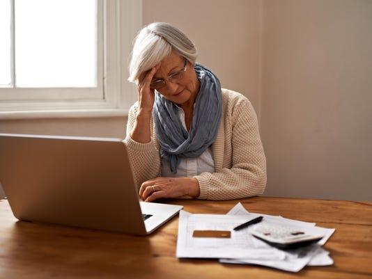 Retirement fund worries
