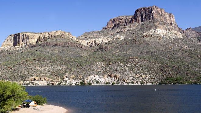 File photo of Apache Lake